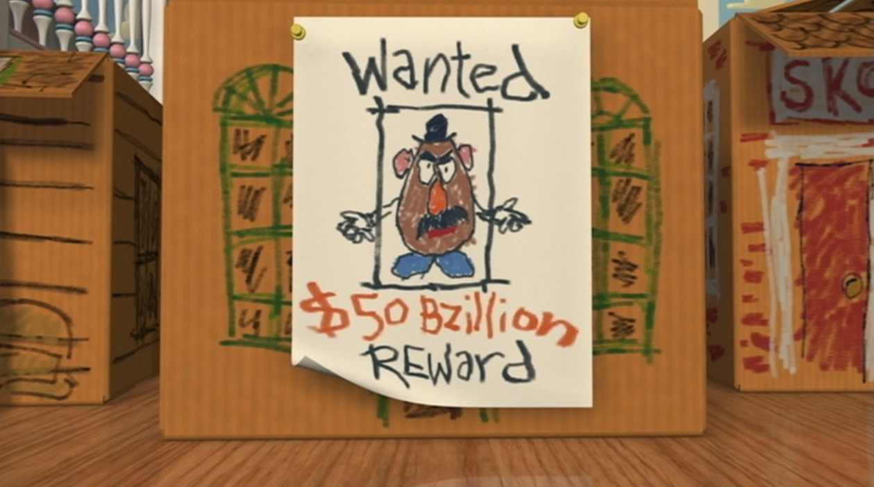 "Toy Story Money Money Money : Pic of the day ""all right everyone this… is a stick up"