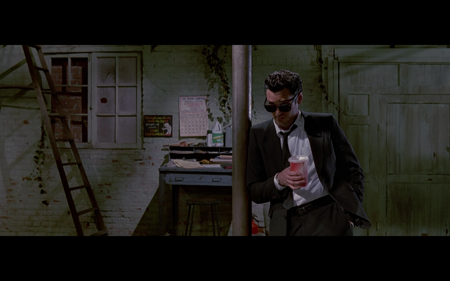 Mr blonde in the movie reservoir dogs