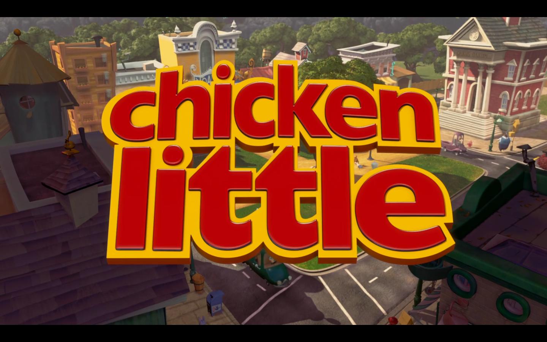 Ranking Disney 51 Chicken Little 2005 B Movie Blog