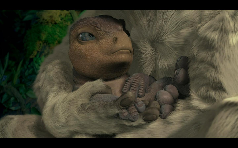 dinosaur movie 2000 ending