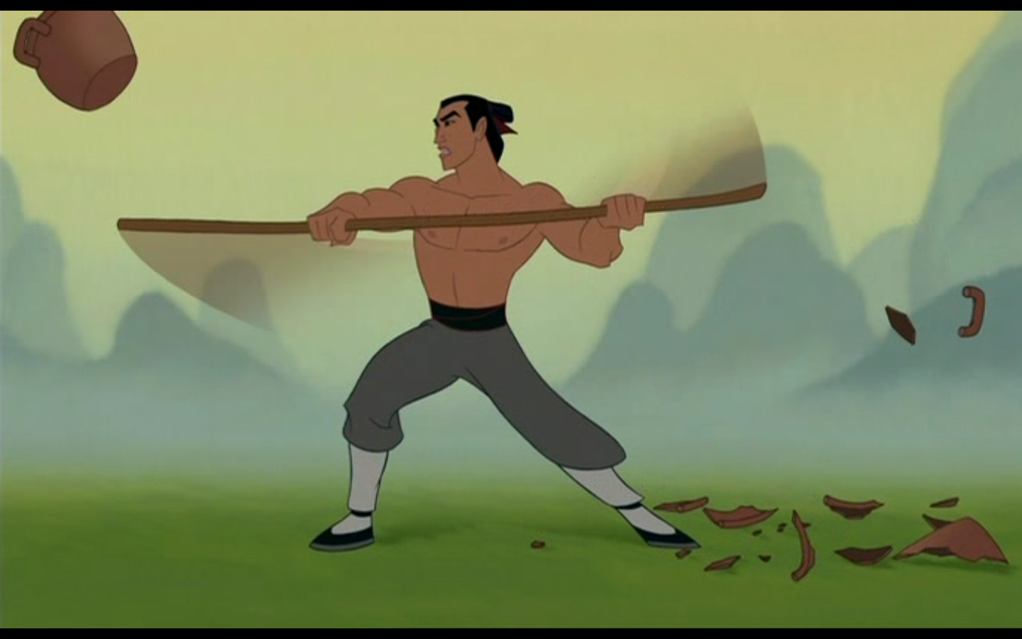Ranking Disney   21     Mulan  1998 Mulan Shang Training
