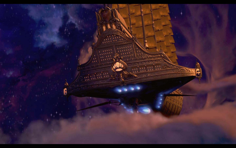 Treasure Planet Star Map.Ranking Disney 37 Treasure Planet 2002 B Movie Blog