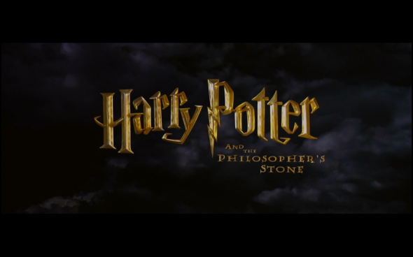 Harry Potter and the Sorcerer's Stone - Title Card