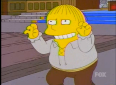 Simpsons Hamlet Ralph