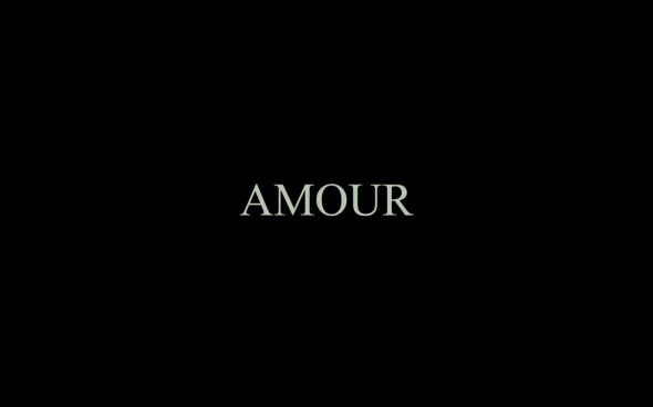 Amour - Title Card