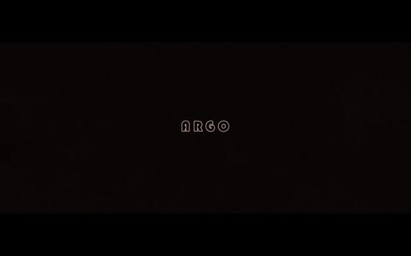 Argo - Title Card