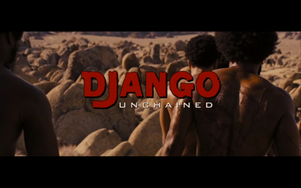 Django Unchained - Title Card