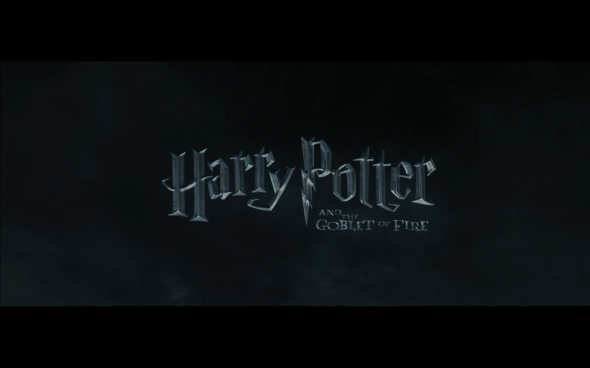Harry Potter and the Goblet of Fire - Title Card