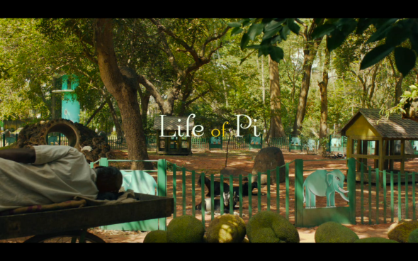 Life of Pi - Title Card