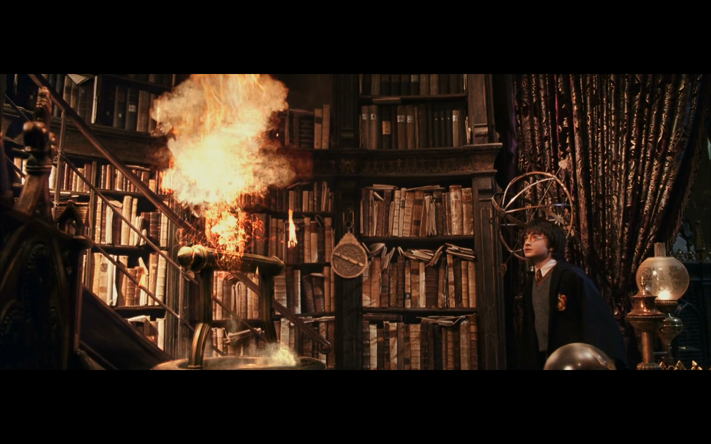 Harry Potter Book Burning ~ Fun with franchises harry potter and the chamber of