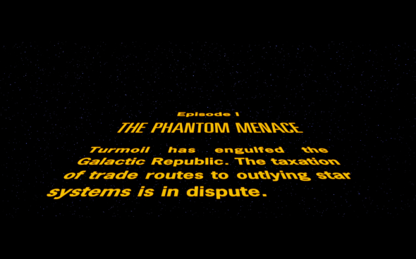 Star Wars The Phantom Menace - 1
