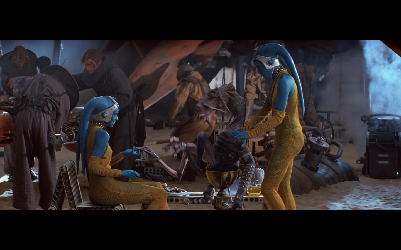 Star wars shabby blue