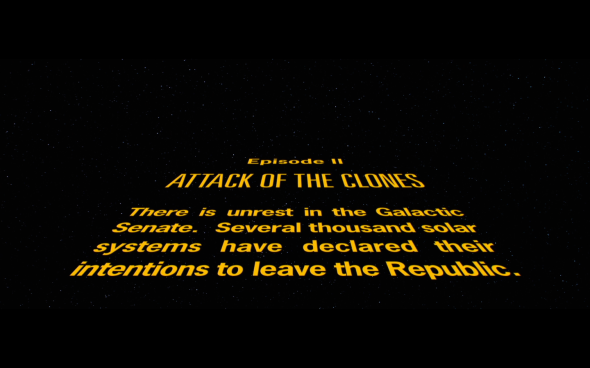 Star Wars Attack of the Clones - 1