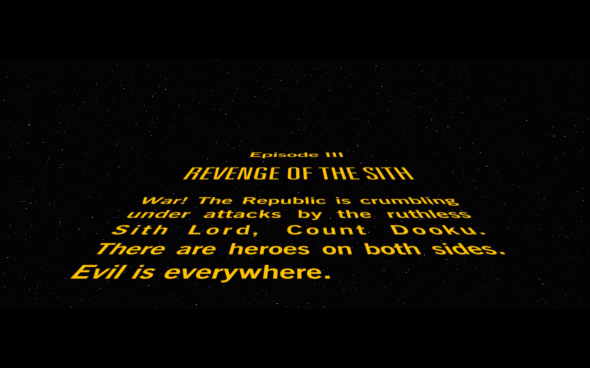 Star Wars Revenge of the Sith - 1