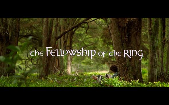 The Fellowship of the Ring - Title Card