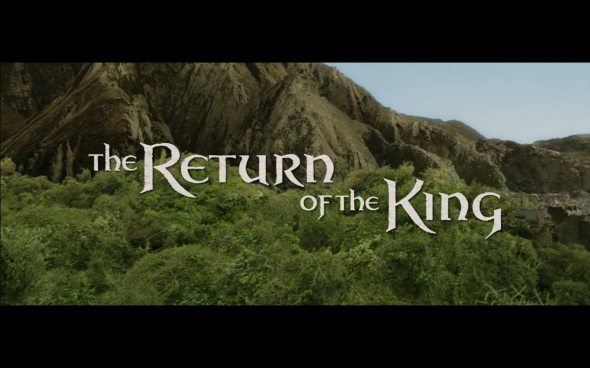 The Lord of the Rings The Return of the King - Title Card