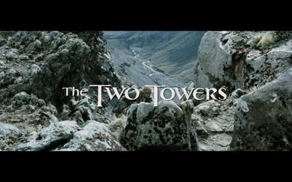 The Lord of the Rings The Two Towers - Title Card