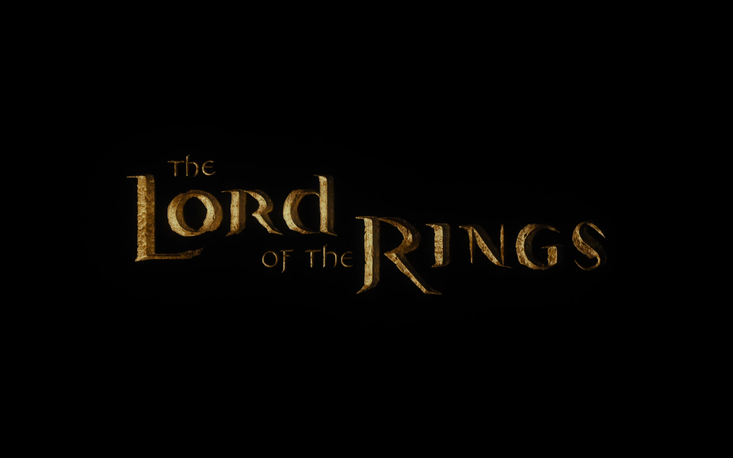 First Lord Of The Rings Movie Title