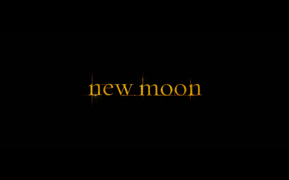 The Twilight Saga New Moon - Title Card