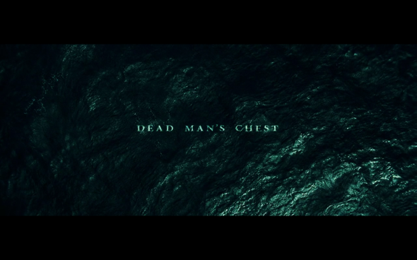 Pirates of the Caribbean Dead Man's Chest - 2