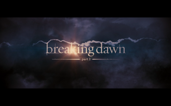 The Twilight Saga Breaking Dawn Part 1 - Title Card 2