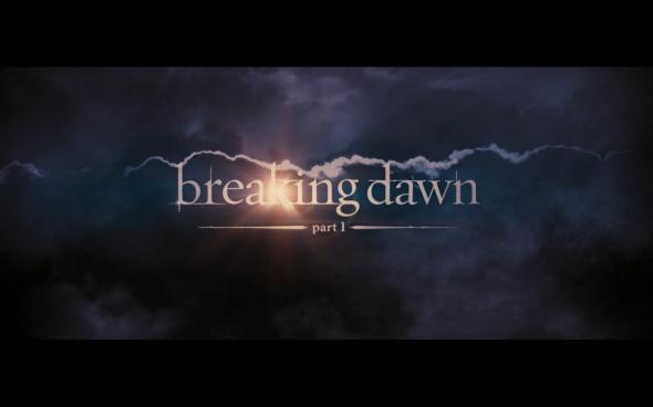 The Twilight Saga Breaking Dawn Part 1 - Title Card 2