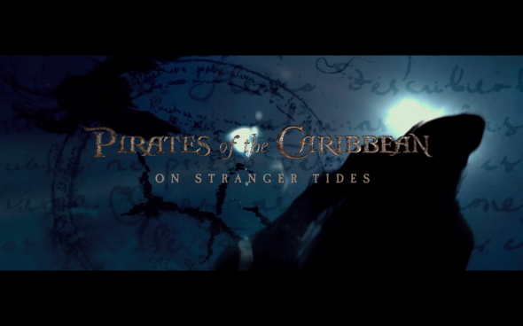 Pirates of the Caribbean On Stranger Tides - Title Card
