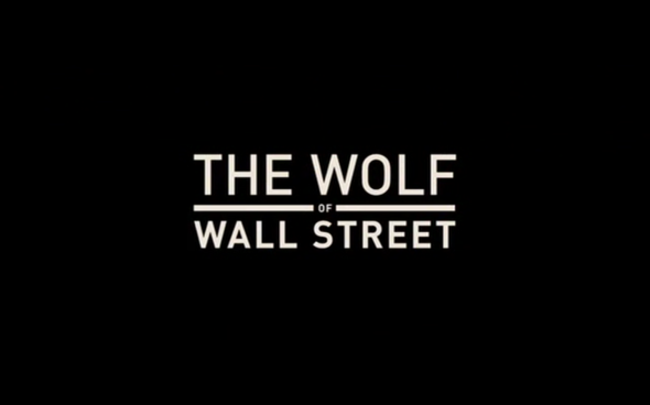 The Wolf of Wall Street - Title Card