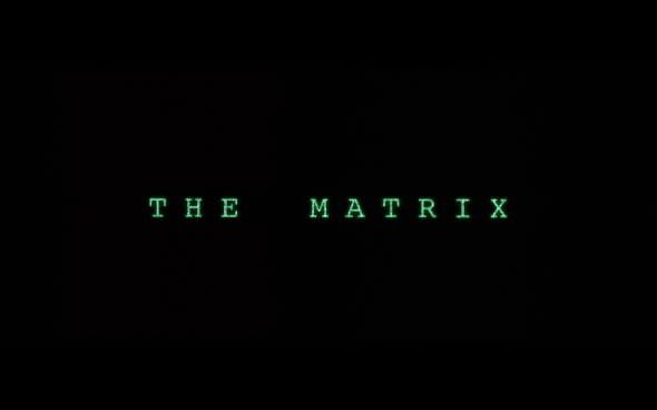 The Matrix - Title Card