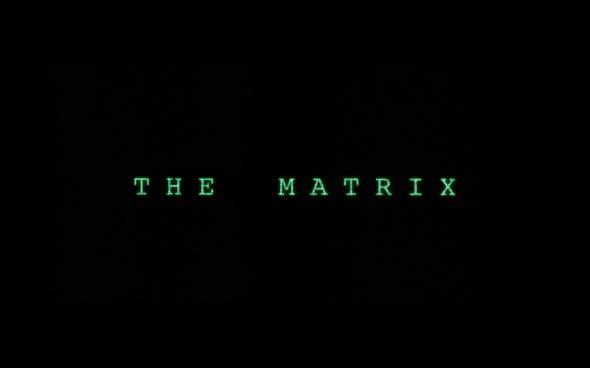 The Matrix - Title Card