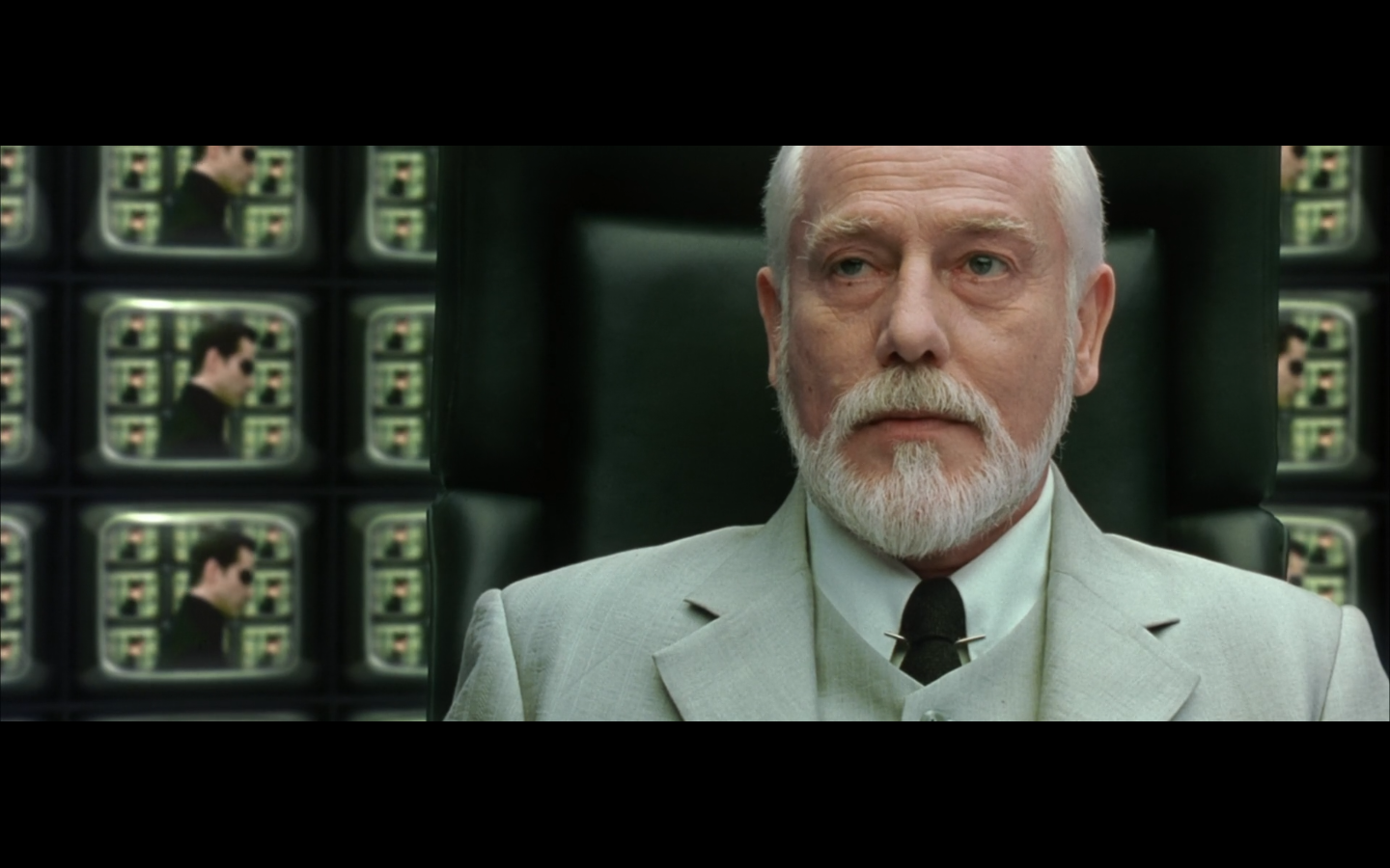 Fun with franchises our favorite images from the matrix for Matrix reloaded architect