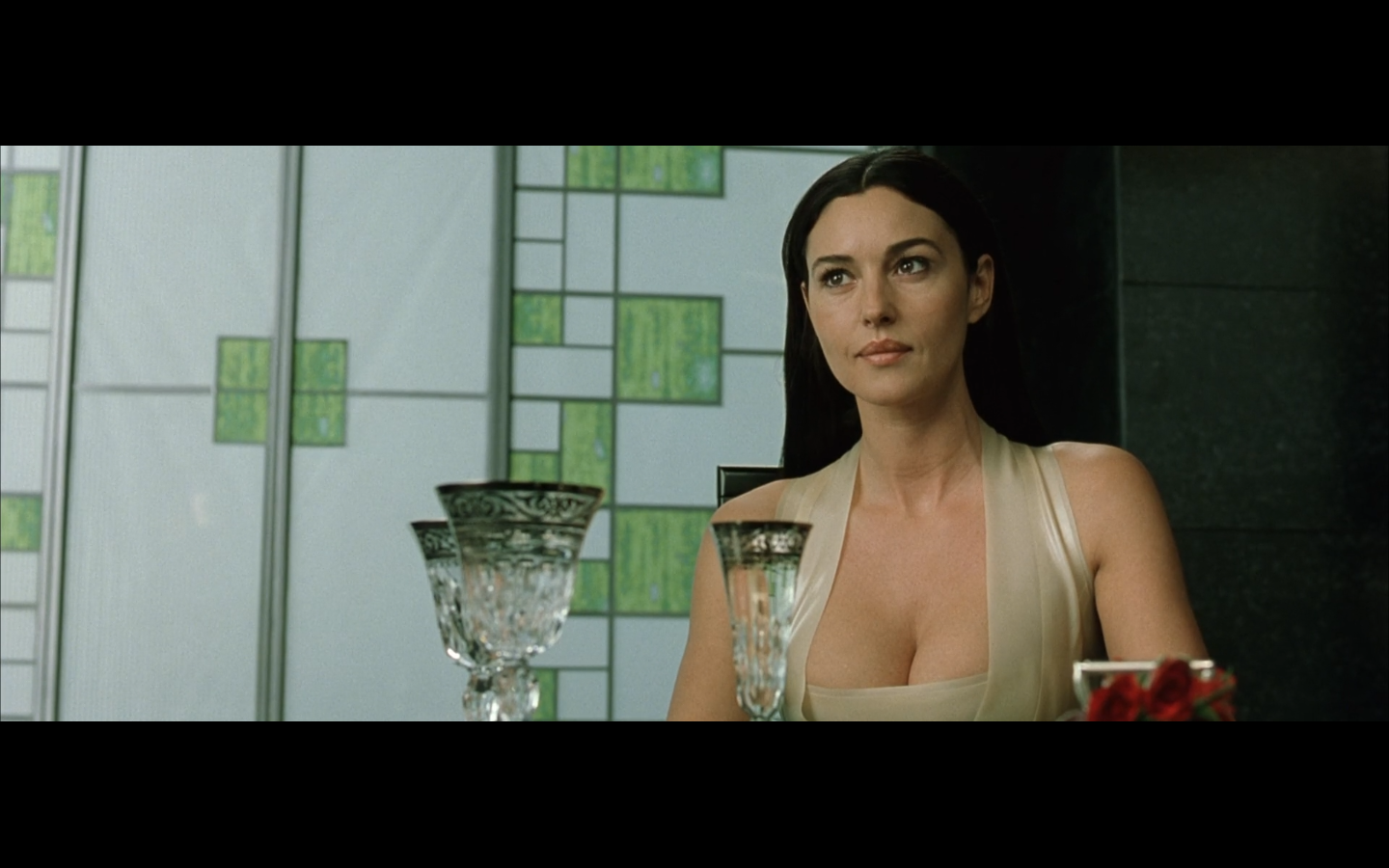 Carrie anne moss in the matrix reloaded