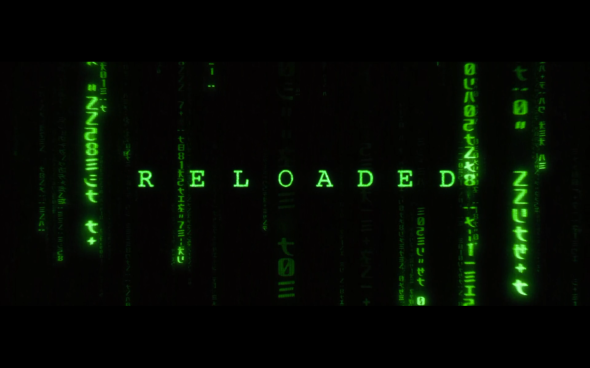 The Matrix Reloaded - Title Card 2