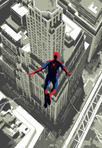 The Amazing Spider-Man 2 IMAX Movie Poster