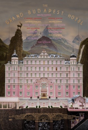 The Grand Budapest Hotel Movie Poster