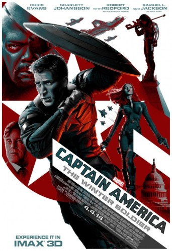 Captain American The Winter Soldier Movie Poster