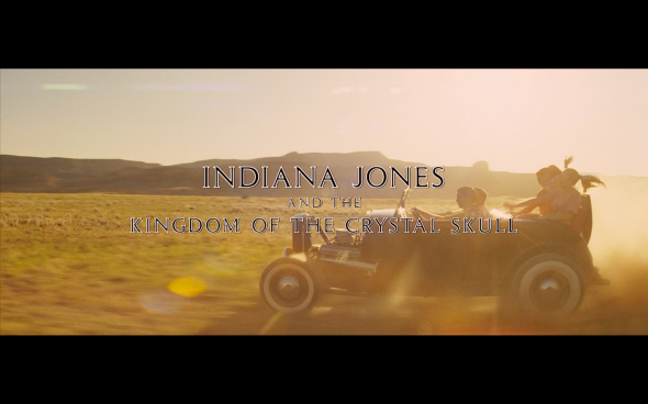 Indiana Jones and the Kingdom of the Crystal Skull - Title Card