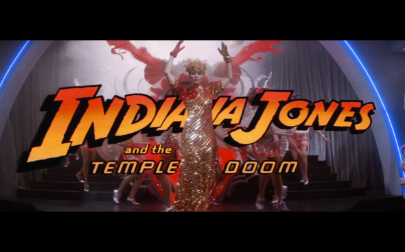 Indiana Jones and the Temple of Doom - Title Card