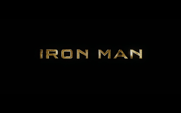Iron Man - Title Card