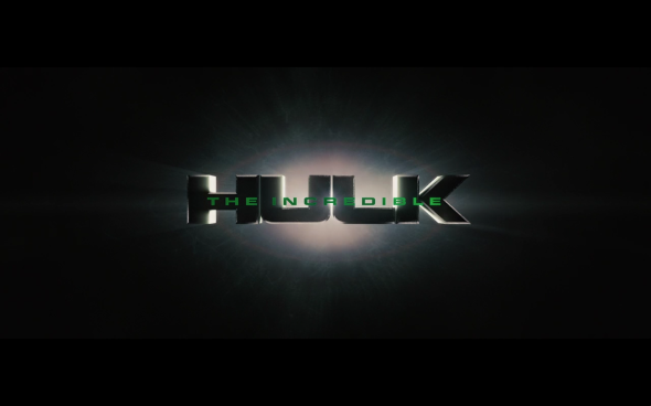 The Incredible Hulk - Title Card