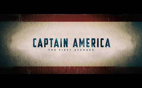 Captain America The First Avenger - Title Card