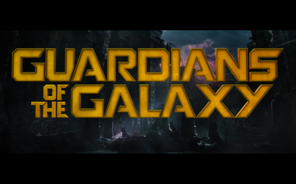 Guardians of the Galaxy - Title Card