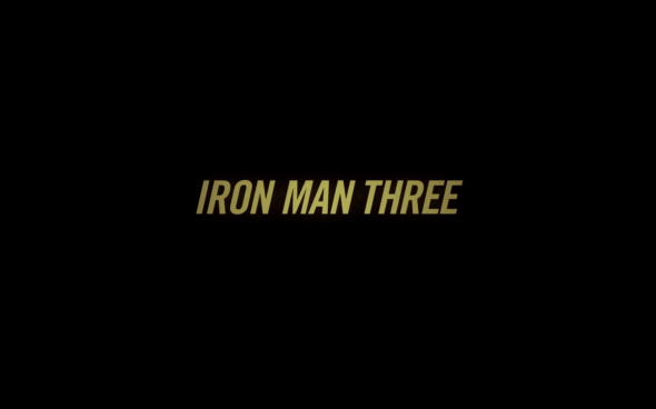 Iron Man 3 - Title Card